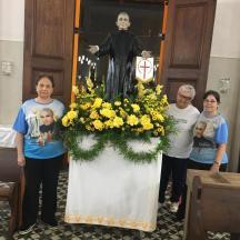 Foto 1 Missa em Honra a São Luis Orione em 16 de Maio de 2019