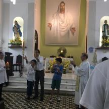 Foto de Paroquiano Aniversariando no 1º dia do Tríduo